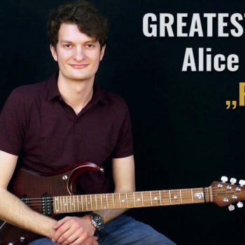 Gitarrenriff Nr. 63 - Alice Cooper - Posion
