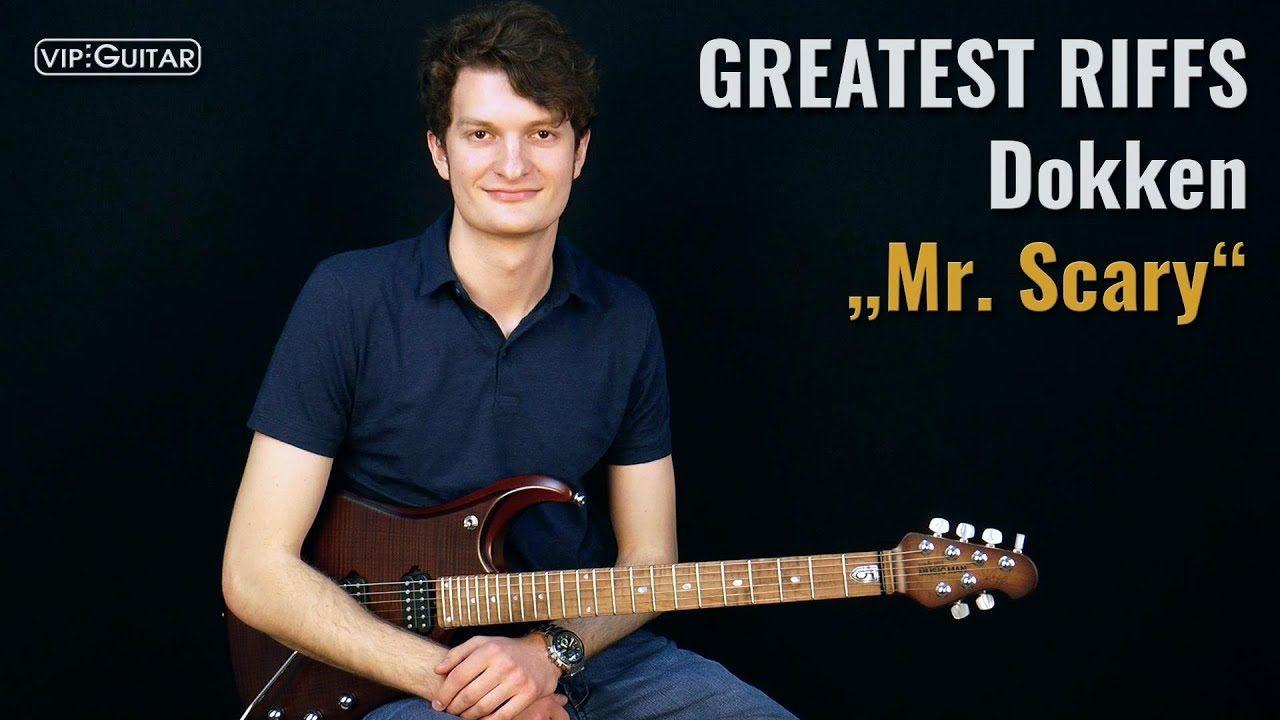 Gitarrenriff Nr. 64 - Dokken - Mr. Scary