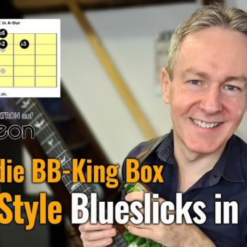 Blues:die BB King Box Licks in A Dur