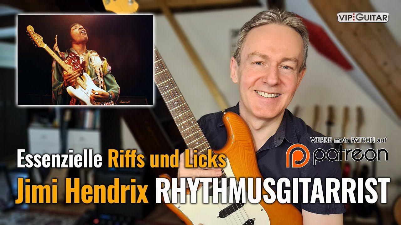 Jimi Hendrix - Rhythmusgitarrist