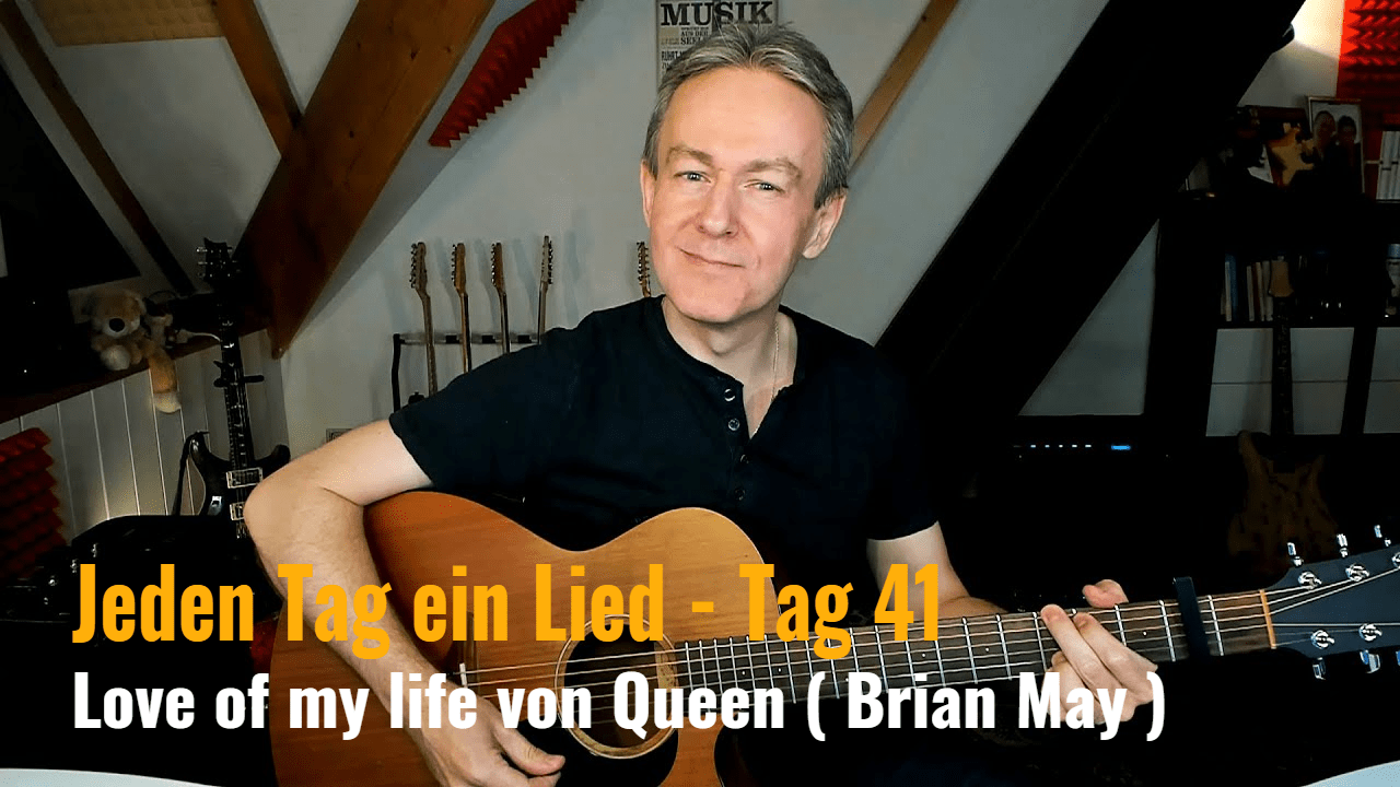 Jeden Tag ein Lied Tag 41 - Love of my live von Queen (Brian May)