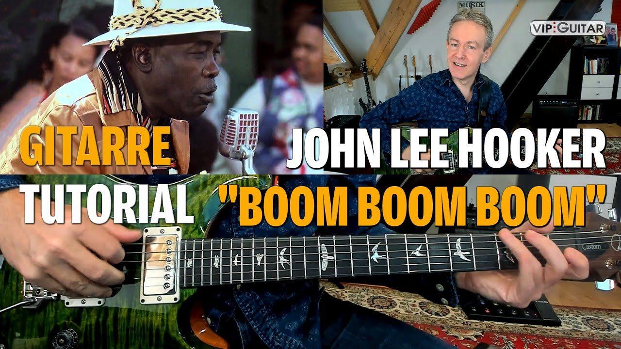 Songturoial - Boom Boom Boom - John Lee Hoocker