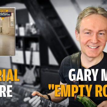 Songtutorial Empty Rooms von Gary Moore