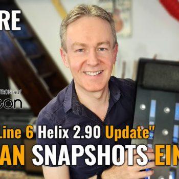 Helix 2.90 Update - Wie man Snapshots einsetzt