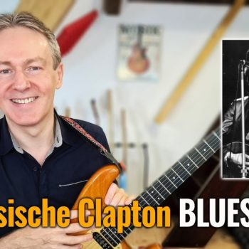 5 klassische Clapton Blues Licks