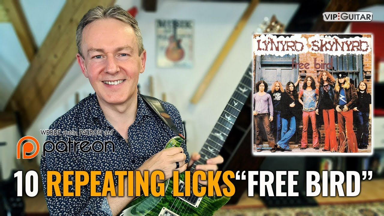 "10 Repeating Licks ""Free Bird"""