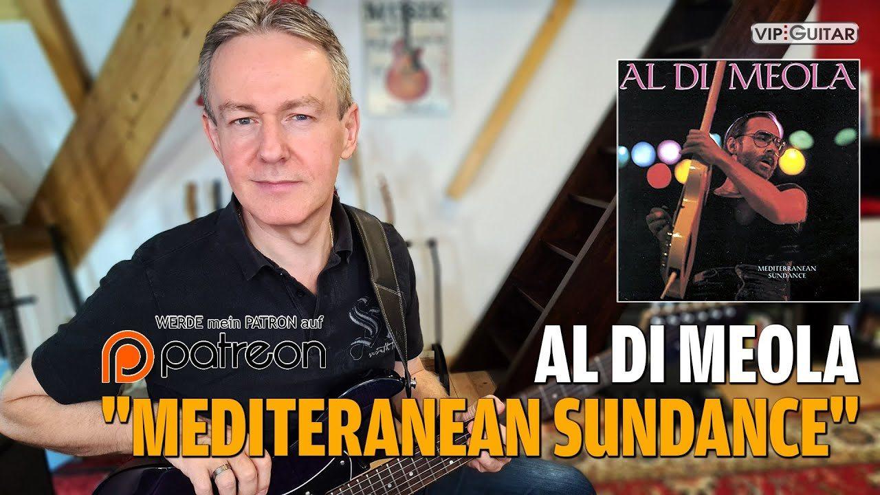 Mediteranean Sundance - das Hauptthema des Meisterwerks von Al Di Meola