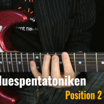 Bluespentatkonik Position 2 in A-Moll