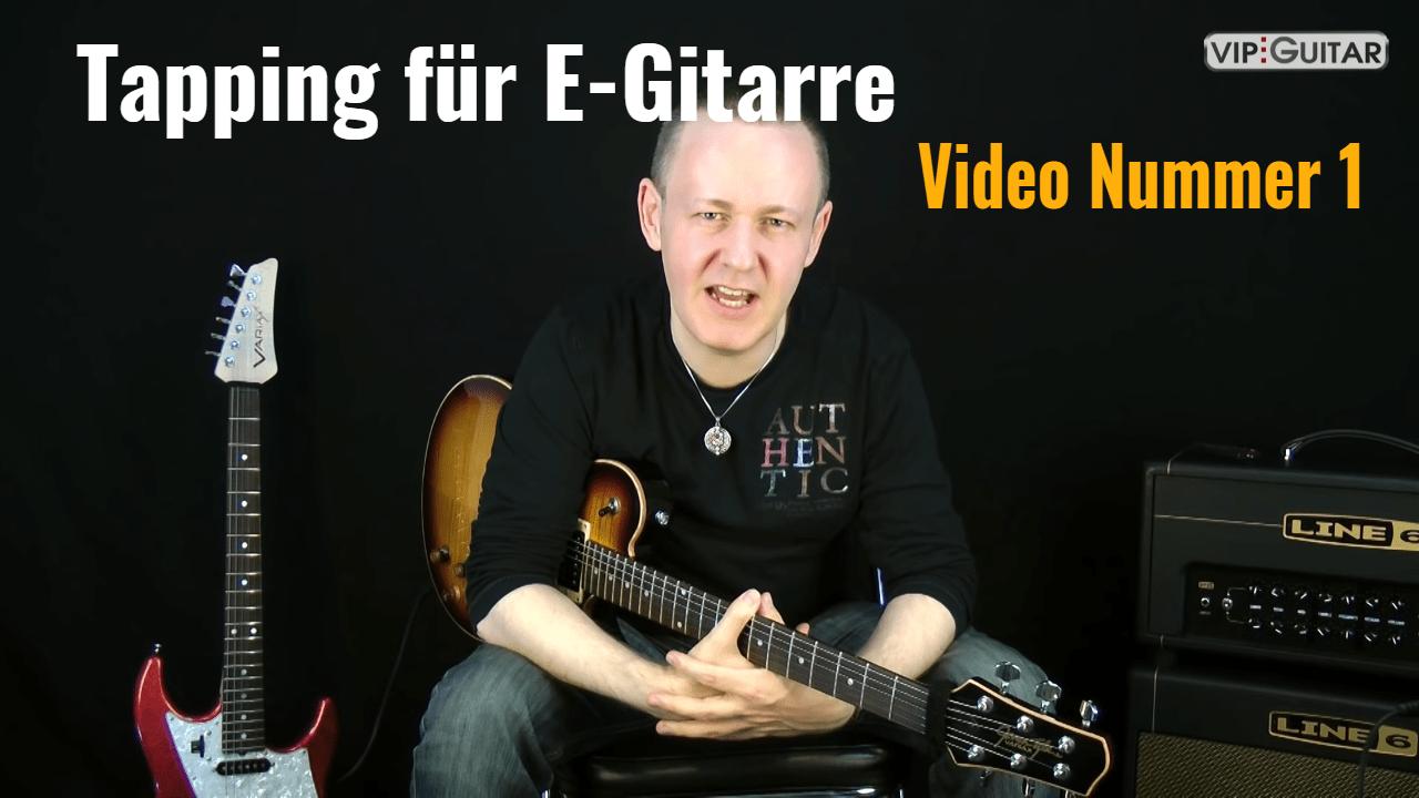 Tapping für E-Gitarre