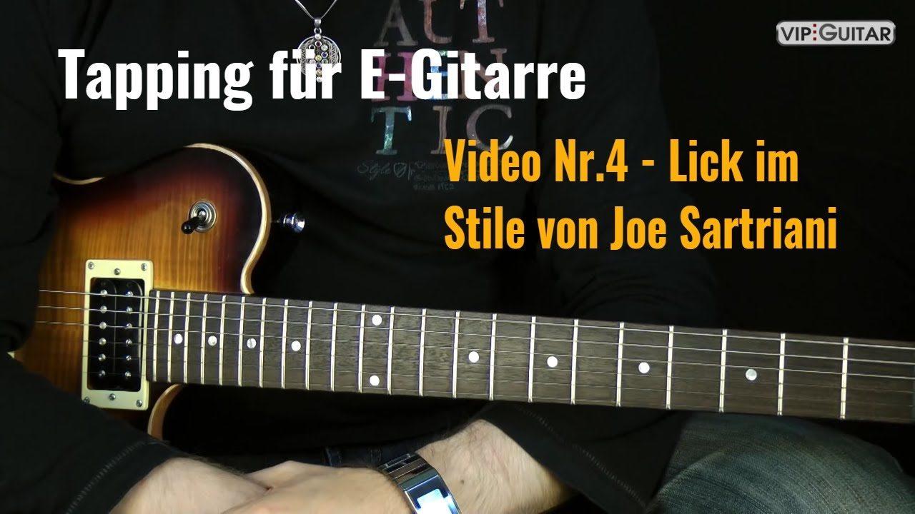 Tapping für E-Gitarre - Video Nr.4