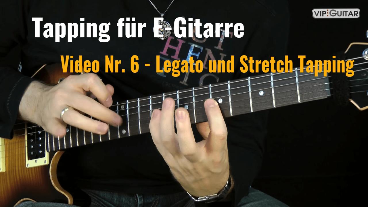 Tapping für E-Gitarre - Video Nr.6