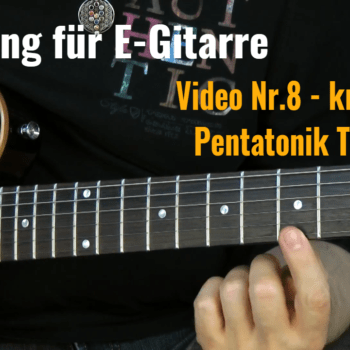 Tapping für E-Gitarre Video Nr.8