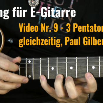 Tapping für E-Gitarre Video Nr.9