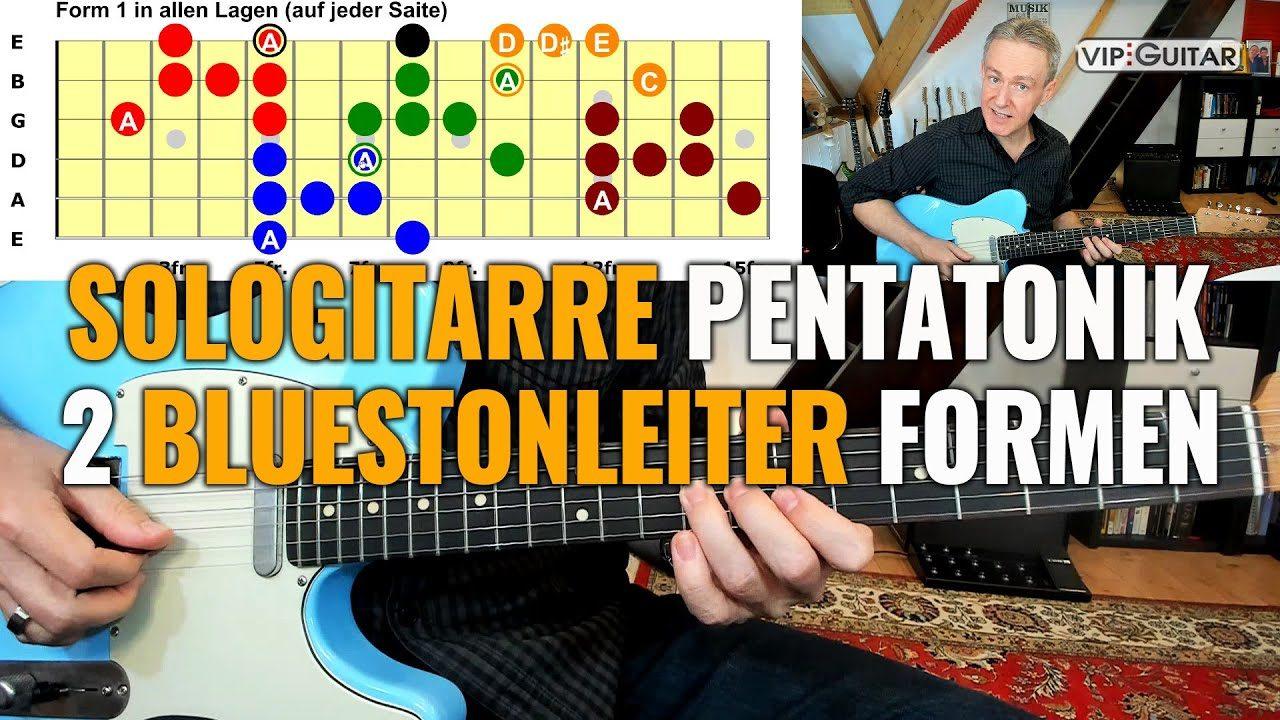 Sologitarre: 2 Bluestonleiterformen, die dein Spiel verändern werden