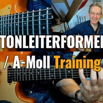 Die 7 Tonleiterformen C-Dur / A- Moll Training Teil 2