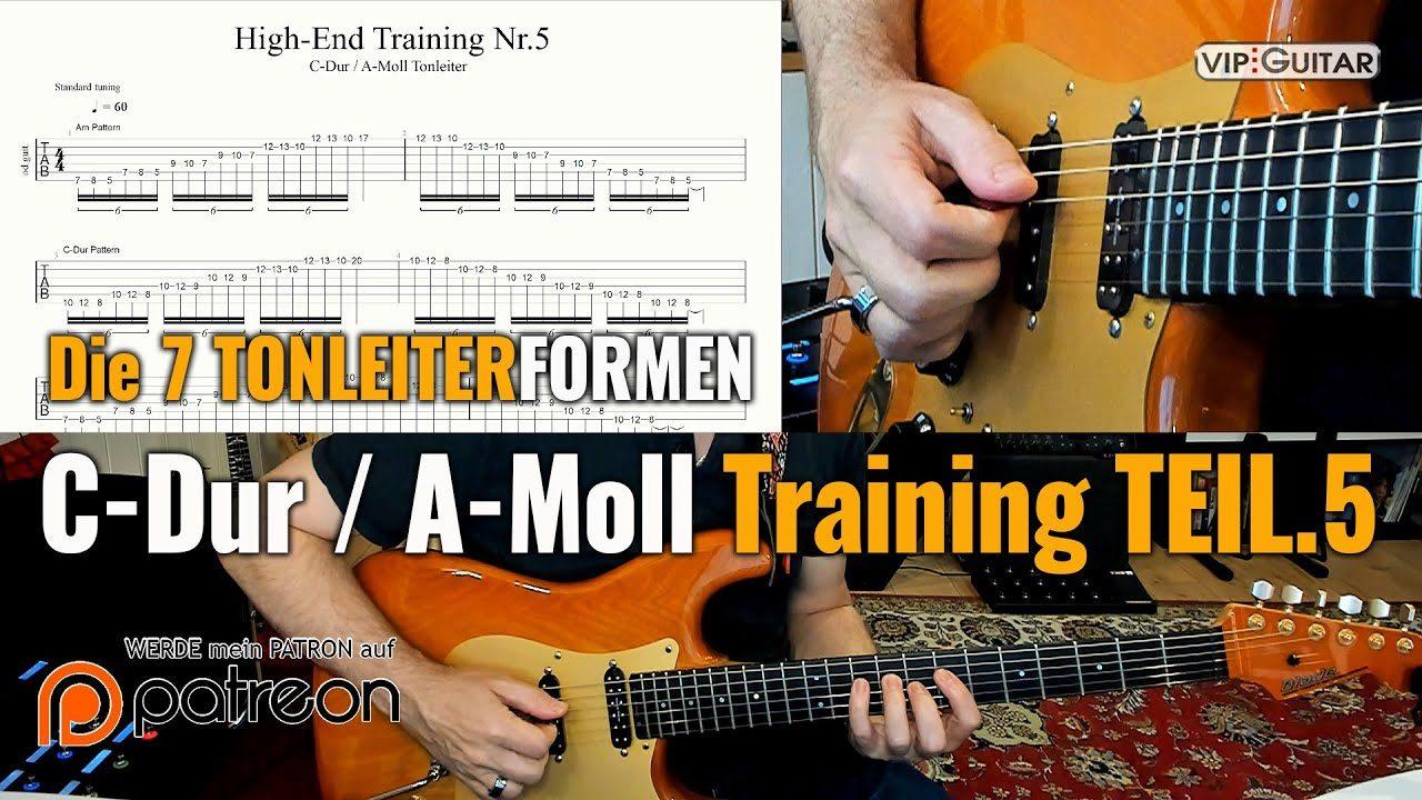 C-Dur / A-Moll Training Teil 5
