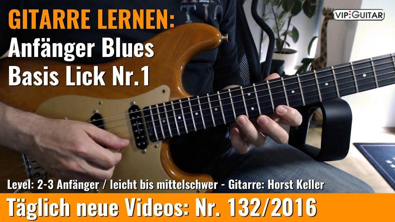Anfänger Blues Lick Nr. 1