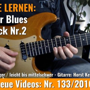 Anfänger Blues Basis Lick Nr. 2