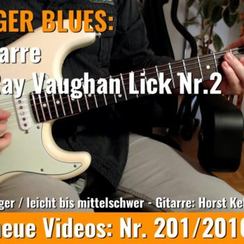 Stevie Ray Vaughan Lick Nr. 2