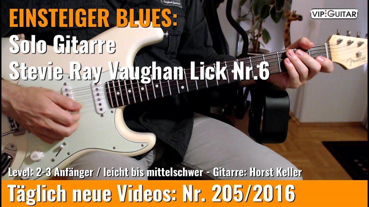 Stevie Ray Vaughan Lick Nr. 6
