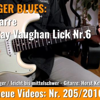 Stevie Ray Vaughan Lick Nr. 6