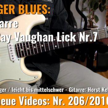 Stevie Ray Vaughan Lick Nr. 7