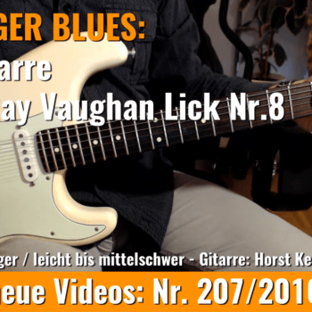 Stevie Ray Vaughan Lick Nr. 8