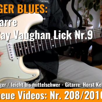 Stevie Ray Vaughan Lick Nr. 9