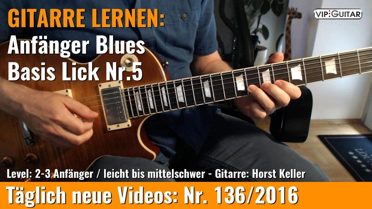 Anfänger Blues - Basic Lick Nr. 5