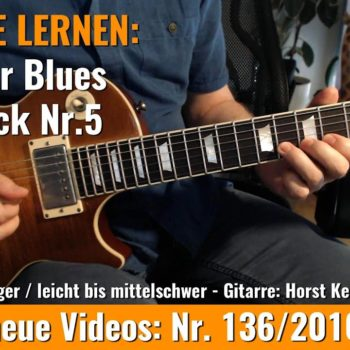 Anfänger Blues - Basic Lick Nr. 5