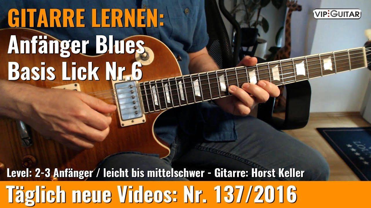 Anfänger Blues - Basic Lick Nr. 6