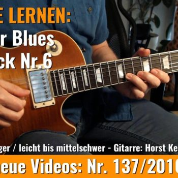 Anfänger Blues - Basic Lick Nr. 6