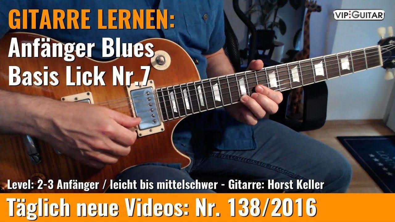 Anfänger Blues - Basic Lick Nr. 7