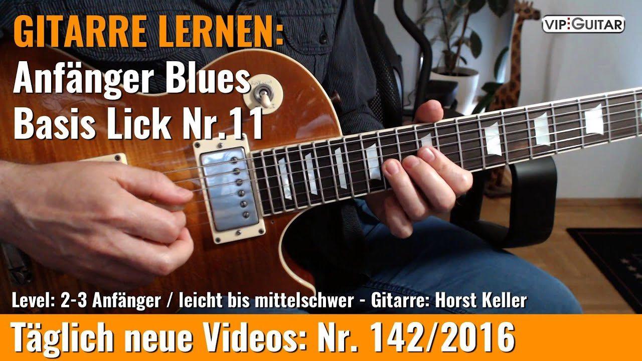 Anfänger Blues - Basic Lick Nr. 11