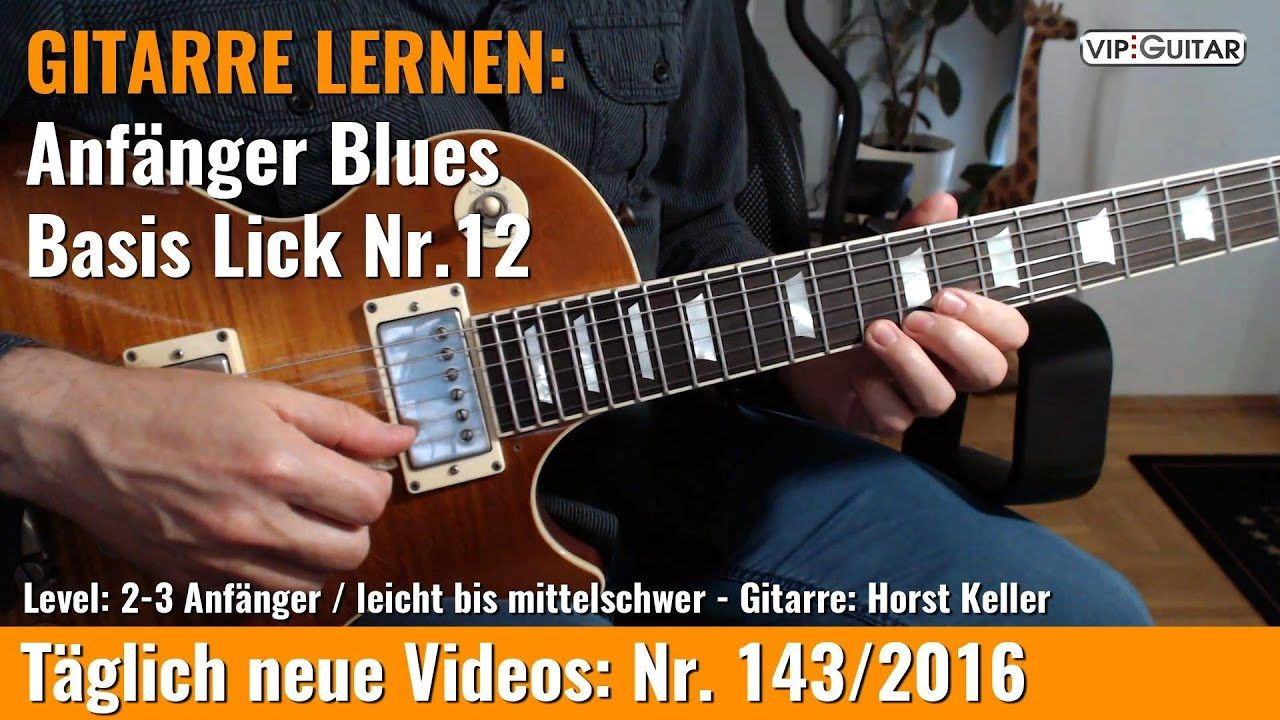 Anfänger Blues - Basic Lick Nr. 12