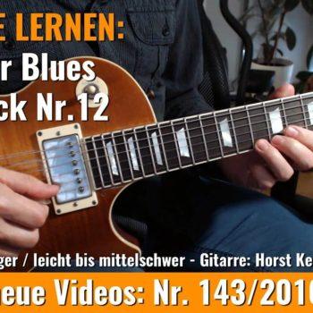 Anfänger Blues - Basic Lick Nr. 12