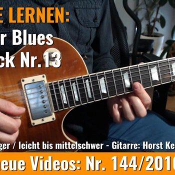 Anfänger Blues - Basic Lick Nr. 13