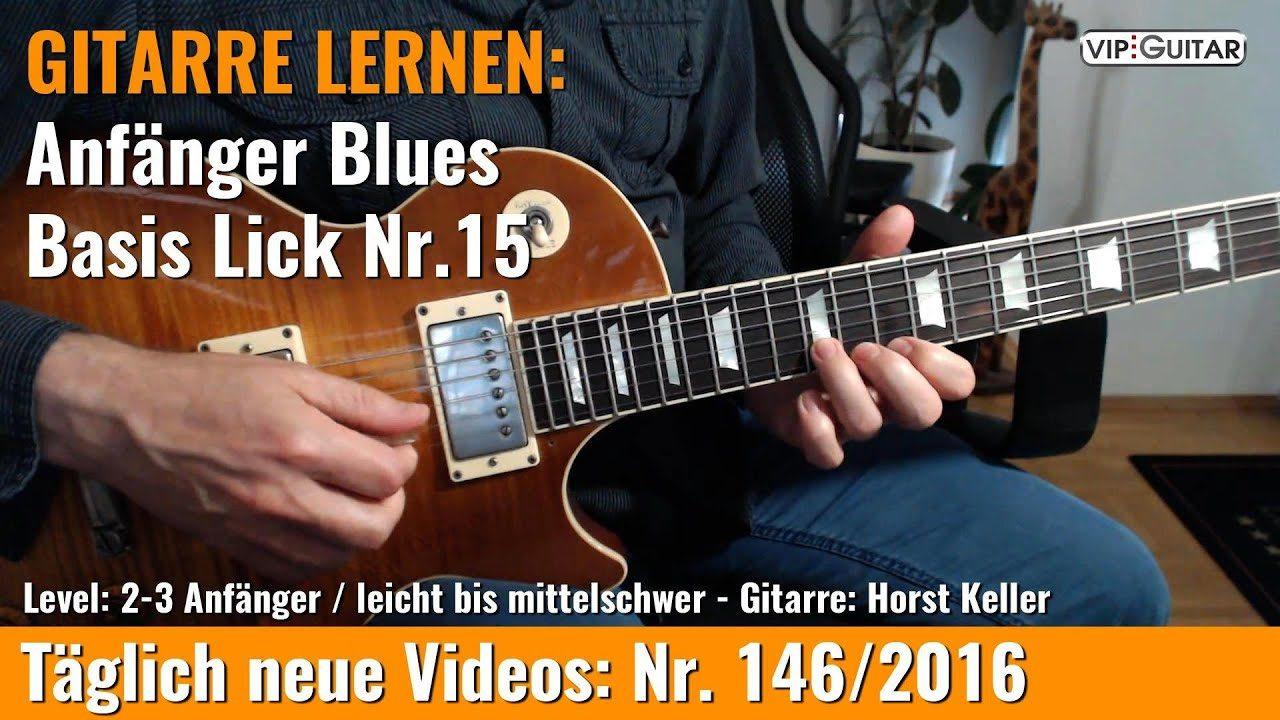 Anfänger Blues - Basic Lick Nr. 15