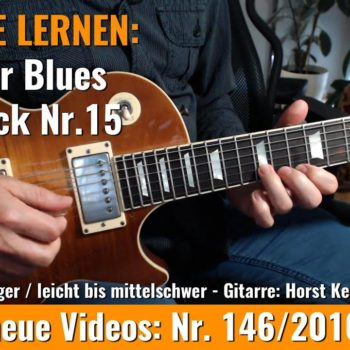 Anfänger Blues - Basic Lick Nr. 15