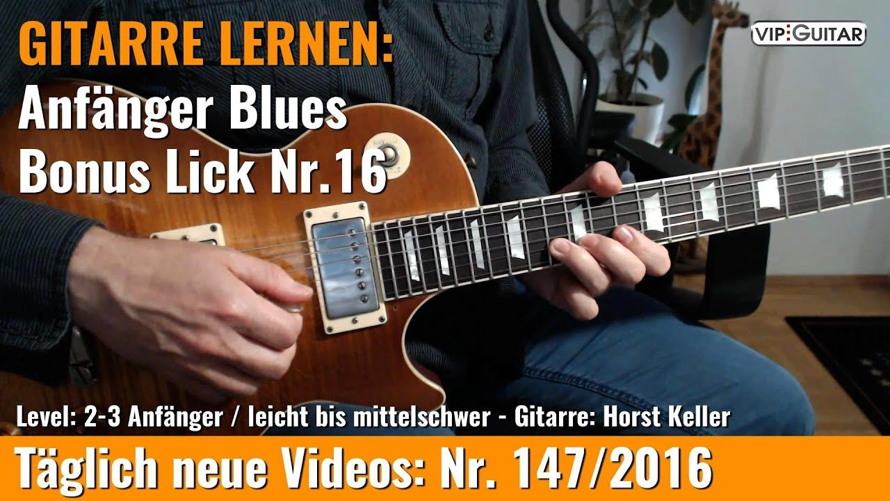 Anfänger Blues - Basic Lick Nr. 16