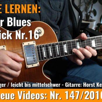 Anfänger Blues - Basic Lick Nr. 16