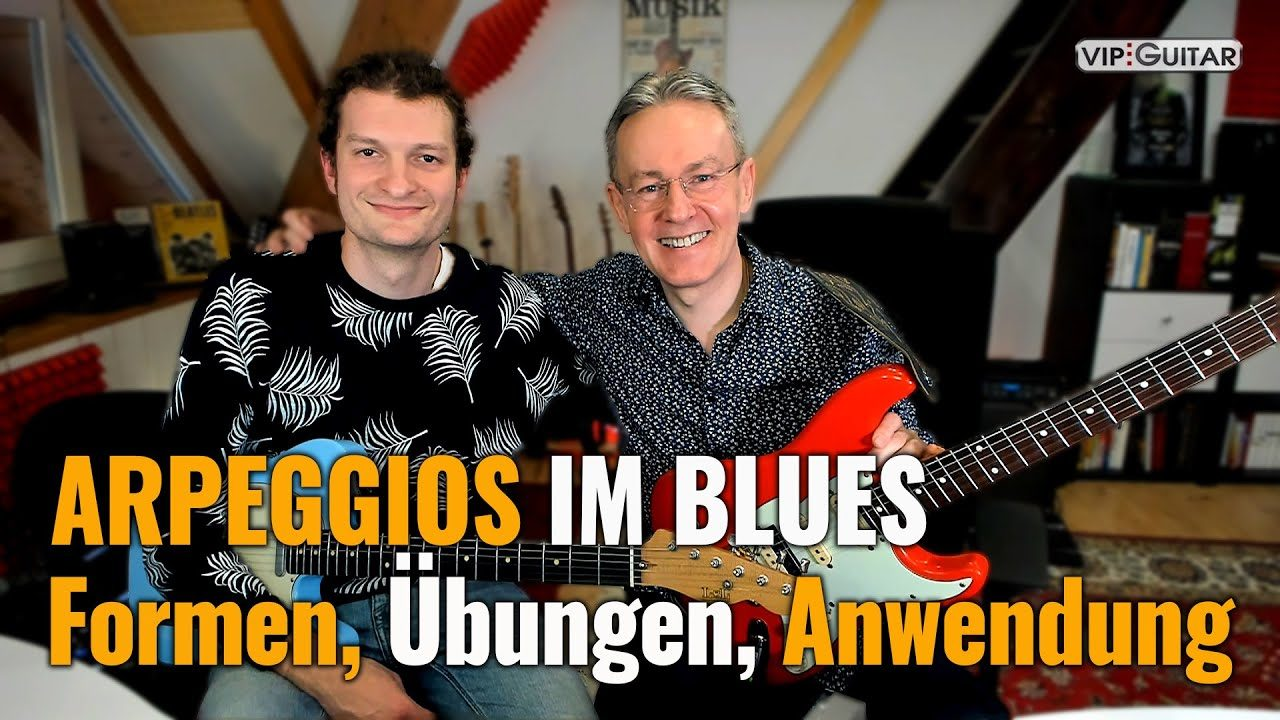 Arpregios im Blues