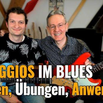 Arpregios im Blues