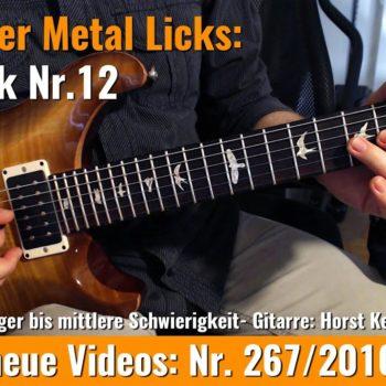 Einsteiger Metal Licks - Solo Gitarre - Lick Nr. 12