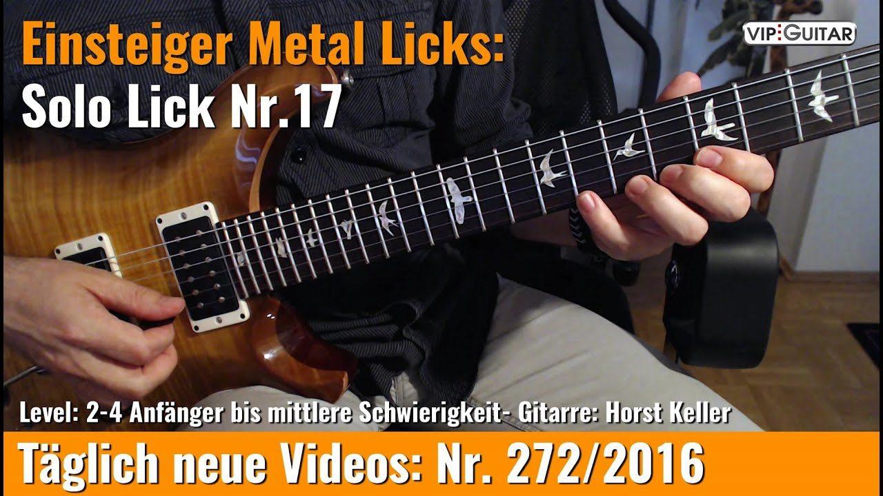Einsteiger Metal Licks - Solo Gitarre - Lick Nr. 17