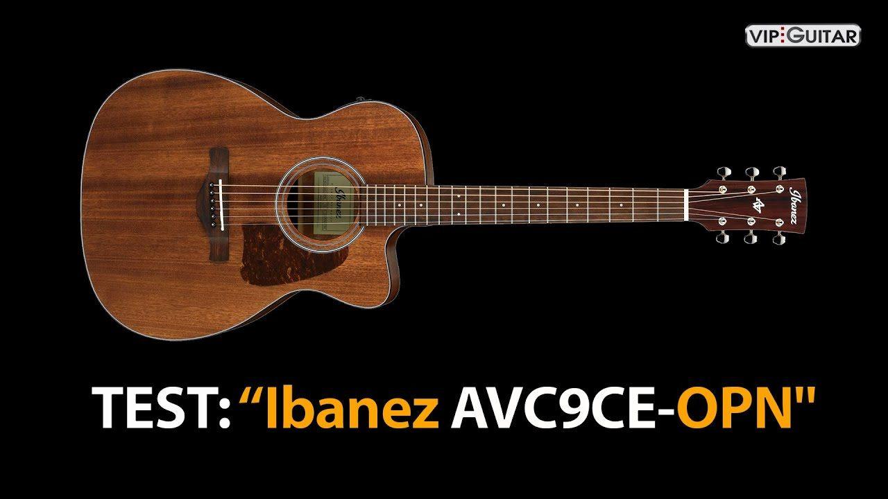 Produkttest Ibanez AVC9CD-OPN