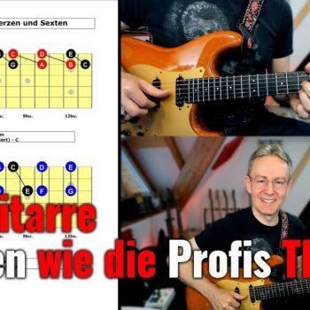 Sologitarre spielen wie die Profis - TEIL 6