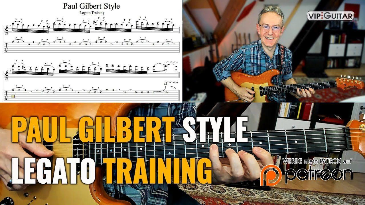Paul Gilbert Style - Lagato Training