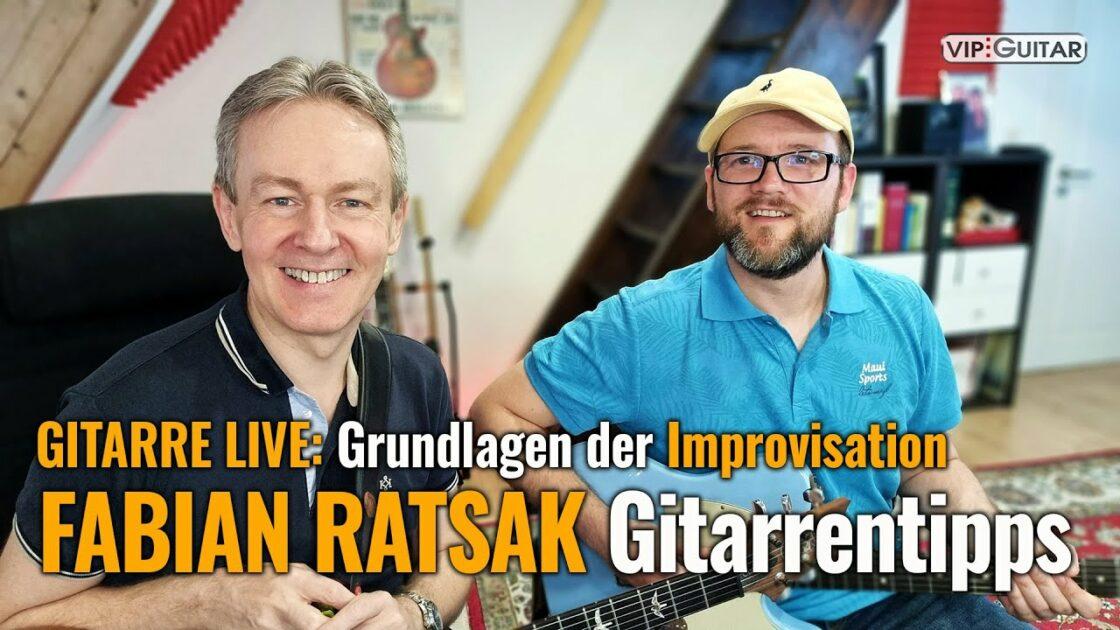 Fabian Ratsak: Grundlagen der GitarrenImprovisation