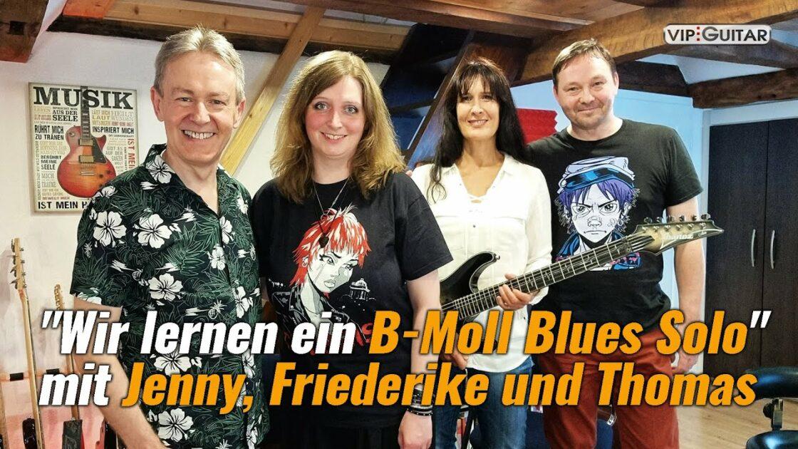 B-Moll Blues Solo